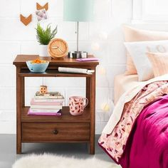 Free shipping on orders of $35+ from Target. Read reviews and buy Vibrant College Bedding with Functional Nightstand Collection - Room Essentials™ at Target. Get it today with Same Day Delivery, Order Pickup or Drive Up.
