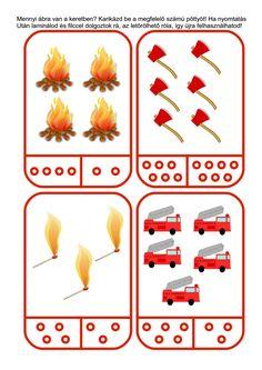 Még mindig tűz van...! Ötletek a tűz témakörhöz óvodában Fire Safety For Kids, Fire Safety Tips, Fire Safety Week, Preschool Classroom Decor, Preschool Themes, Preschool Activities, Human Body Activities, Pre K Activities, Color Worksheets For Preschool