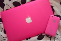 Pink iPad and iPhone. Color Magenta, Purple, Pretty And Cute, Pretty In Pink, Tumblr Quality, Rosa Pink, Pink Apple, I Believe In Pink, Just Girly Things