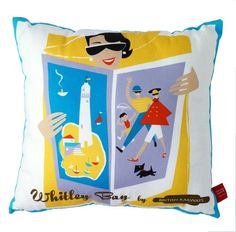 whitley bay cushion by michelle mason | notonthehighstreet.com