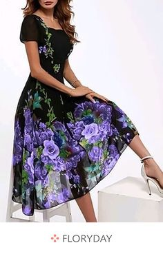 Shop Floryday for affordable X line Dress A line Dress Dresses. Floryday offers latest ladies' X line Dress A line Dress Dresses collections to fit every occasion. Day Dresses, Dresses For Sale, Short Sleeve Dresses, Dresses With Sleeves, Summer Dresses, Dresses Online, Long Sleeve, Womens Fashion Online, Latest Fashion For Women