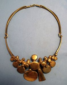 richard lawless, vintage brass necklace. Love. This. Almost as much as the vintage one I already have.