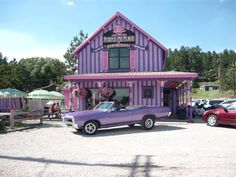 The Purple Pie Place is a fixture for the summer and fall. The best homemade pies in the Black Hills. The Purple Pie serves hundreds of slices of pie a week. The homemade delights are also available in a take home whole pie version.
