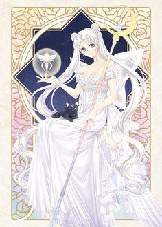 girlsbydaylight:  Princess Serenity by 靄羅 on pixiv