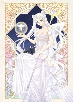 girlsbydaylight:  Princess Serenity by 靄羅 on pixiv