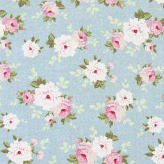 Tilda Pernille 1 - Telas de algodón – Flores - Telas de algodón