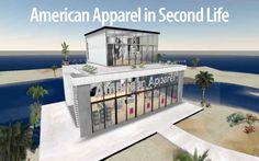 Second Life, Virtual World, American Apparel