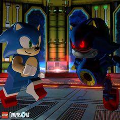 Put the pedal to the metal... Sonic! #LEGODimensions #BreakTheRules #EverythingIsAwesome #MashupMadness #CombineYourLEGO #UpgradeYourLEGO #BuildSomethingSuper #LEGO #SonicTheHedgehog #SEGA