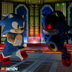 Put the pedal to the metal... Sonic! #LEGODimensions #BreakTheRules #EverythingIsAwesome #MashupMadness #CombineYourLEGO #UpgradeYourLEGO #BuildSomethingSuper #LEGO #SonicTheHedgehog #SEGA