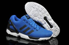 5fca25437 adidas Originals ZX Flux Base Tone Royal Blue White