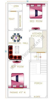 19*45 floor plan