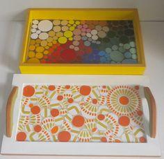"""Bandejas by Schandra """" Trabalhos em Mosaico"""", via Flickr Mosaic Tray, Mosaic Pots, Mosaic Birds, Mosaic Tables, Mosaic Crafts, Mosaic Projects, Mosaic Ideas, Sisal, Mosaic Madness"""
