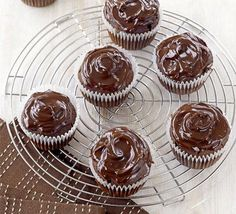 Easy chocolate cupcakes recipe GUILT FREE RECIPE!!!...........  I'll Show You How to Make ANY Dessert Into A Healthy, Fat-Burning Version that Will Make You Leaner… Instead of Fatter!! #chocolate #cake #weightloss