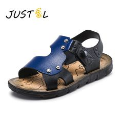 68ac91253246 Summer Children Sandals Open Toe Slip-resistant Boys Girls Beach Outdoor Sandal  Kids Fashion Shoes(Baby Little Kids Big Kid)