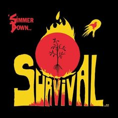 Survival - Simmer Down, Red