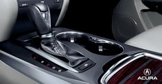 2015 Acura MDX gear shifter interior close up