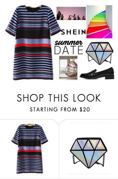 """""""summer date"""" by sheinfashion ❤ liked on Polyvore featuring WithChic and vintage"""