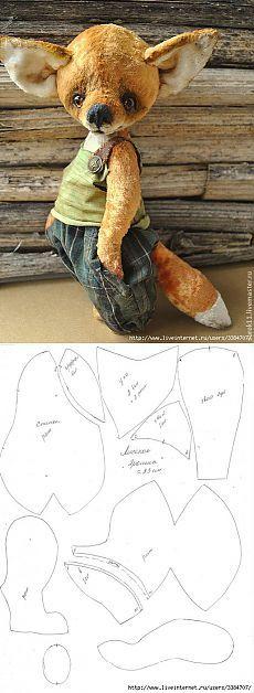 Teddy fox from Olga Voropaeva