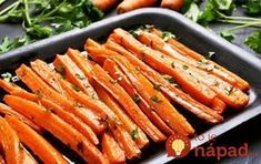 Bluff Cove Olive Oil Co.: Sweet and Spicy Carrots Oven Roasted Carrots, Carrot Fries, Comida Keto, Healthy Holiday Recipes, Holiday Foods, Curry Spices, Carrot Recipes, Vegetable Recipes, Antipasto