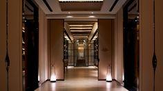 Wellness-Shangri-la Jing An, Shanghai Interior Architecture, Interior Design, Interior Ideas, Ab Concept, Hotel Corridor, New Chinese, Entrance Hall, Wall Design, Restaurant