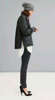 Madewell's F/W 2014 lookbook. Kind of interesting to see the merge of typically feminine & streetwear-y.