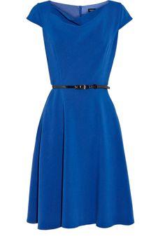Double Cloth Full Skirted Dress $45