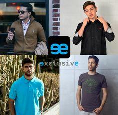 ¡Feliz Miércoles ! Hoy te traemos 4 looks de hombre diferente con productos eeexclusive para que nos cuentes. ¿Con cual te identificas más?