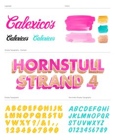Calexico's by Snask , via Behance
