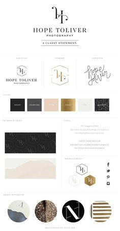New Brand Launch: Hope Toliver Photography | by saltedink.com