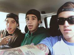 Jai, Luke and Beau Brooks <3