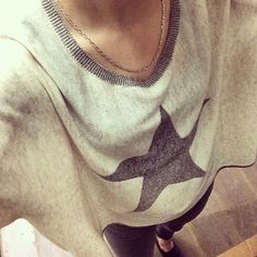Le pull gris chiné Sud express.
