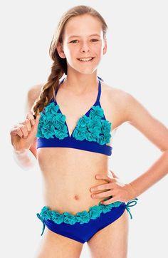 3b4c096233 Girl's Limeapple 'Jamaica' Two-Piece Swimsuit Baby Swimwear, Preteen  Fashion, Tween