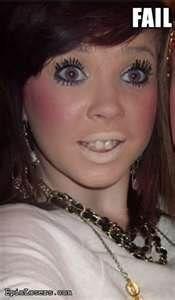 makeup fail - Bing Images