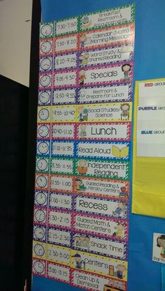 $ Cute Schedule cards :) Created by Alma Almazan