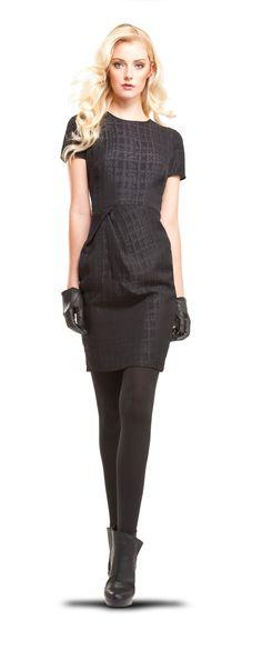 Cloque Dress - MAX STUDIO