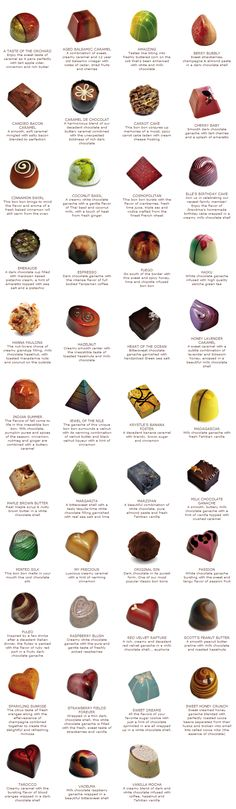 Anna Shea Chocolates are truly beautiful.  Each one a work of art.