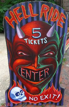 """5 Tickets to Hell""  by KONGA7200, via Flickr"