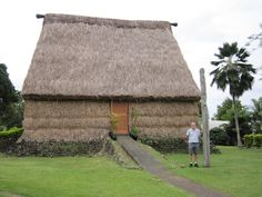 A bure at the University of South Pacific, Suva, Fiji