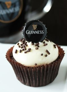Amazing Guinness cupcakes! by glenda