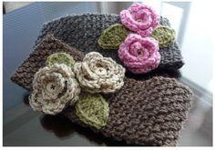 Crochet For Children: Free Crochet Wide Headband Pattern Bonnet Crochet, Knit Or Crochet, Crochet Scarves, Crochet Crafts, Yarn Crafts, Crochet Hooks, Crochet Projects, Crochet Headbands, Crocheted Hats