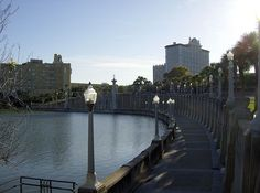 """My home since Lakeland, Florida. Strategically nestled between Tampa and Orlando, Lakeland offers the all the benefits of a mid-sized community with less crime and trafffic, while still being """"close to the action"""" that goes on in the big cities. Colombian Culture, Lakeside Village, Local Painters, Lakeland Florida, I Want To Travel, Sunshine State, Central Florida, Places Ive Been, New York Skyline"""