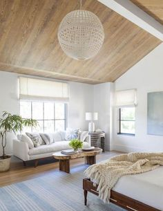 Although it is still hot here in Southern California, I have been feeling fall vibes. Images that create a sense of warmth have been catching my eye. Today I want to share a roundup of spaces that all have beautiful natural wood ceiling details. Warm wood on the ceiling both draws the eye up and …