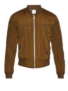 Creased-effect bomber jacket | Wooyoungmi