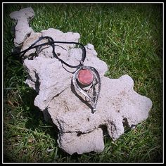 Coral pendant / SOLD /