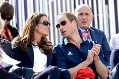 Kate Middleton - The British royals watch the Cross Country Phase of the London 2012 Olympics