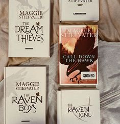 Ami the Booktrovert on Instagram: books, book aesthetic, book stack, book photography, reading, bookstagram, the raven boys, the raven cycle, call down the hawk, maggie stiefvater