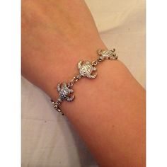 Turtle Bracelet Purchased in Hawaii, very cute turtle bracelet. Brand new, never worn! All prices negotiable, make me an offer :) Jewelry Bracelets