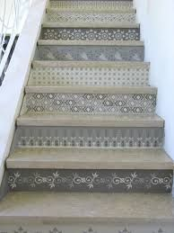 painted entrance stairs - Google Search