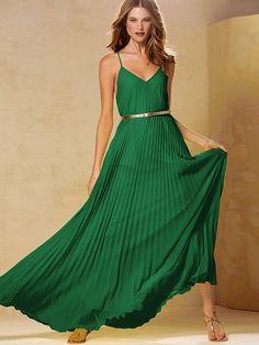 Knife-pleat Maxi Dress #VictoriasSecret http://www.victoriassecret.com/clothing/dresses/knife-pleat-maxi-dress?ProductID=90726=OLS?cm_mmc=pinterest-_-product-_-x-_-x