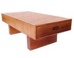 danish teak coffee table - Google Search